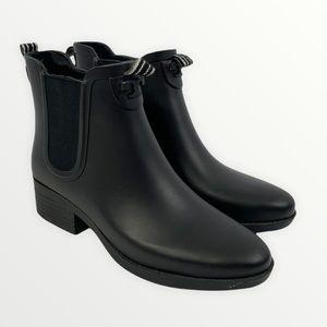 Tory Burch Short Chelsea Rubber Rain Boots